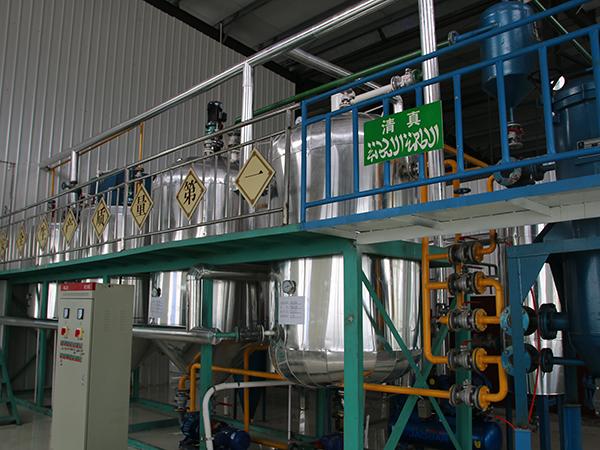 植物油精炼生产线