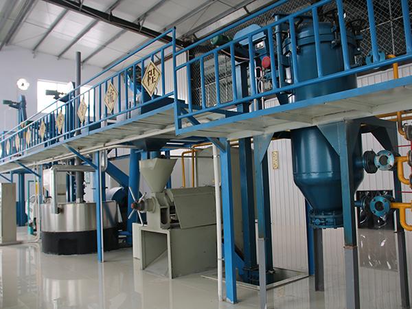 植物油压榨生产线